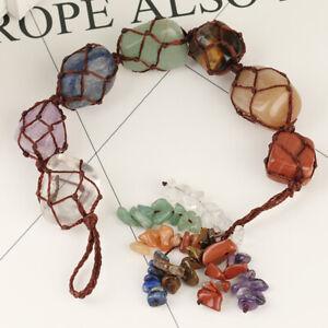 Chakra-Crystal-Stones-Macrame-Hanging-Ornament-Reiki-Healing-Feng-Shui