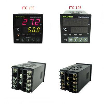 Inkbird ITC-106RL Digital Pid Temperature Controller thermostat Fahrenheit 12V