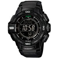 Casio Protrek Prg-270-1a Prg-270 World Time Watch Brand