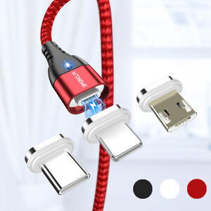FLOVEME-1M-2M-Magnetic-3A-USB-Fast-Charger-Cable-For-Micro-USB-Type-C-Lightning