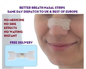 Tira-Nasal-Nariz-mejor-aliento-Ronquido-amp-atleta-ayuda-Europa-y-UK-Post