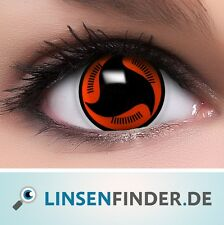 """Coloured Contact Lenses """"Itachi`s Mangekyou Sharingan"""" Contacts  +  Free Case"""