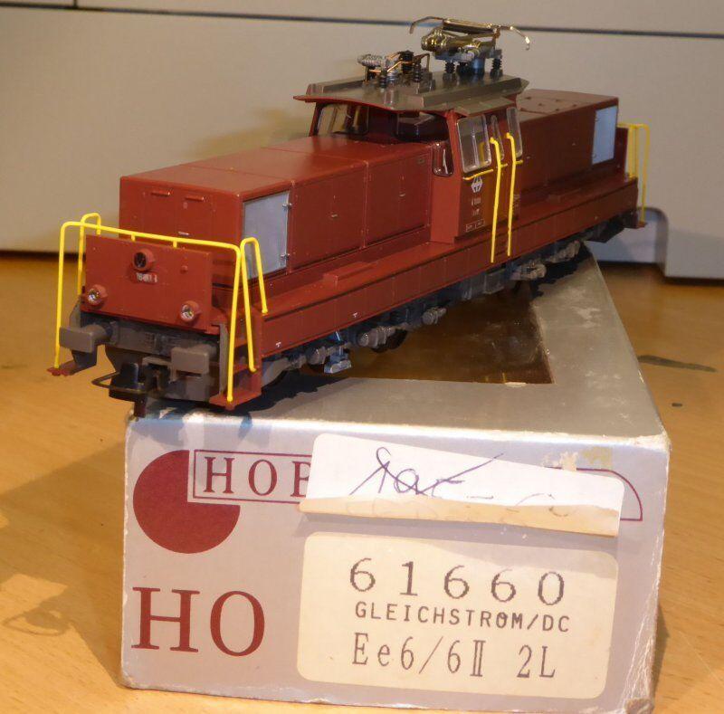 Hobbytrain 61660 Kato H0 Locomotora Eléctrica Ee 6 6 II SBB Ep.4 6 para Dc