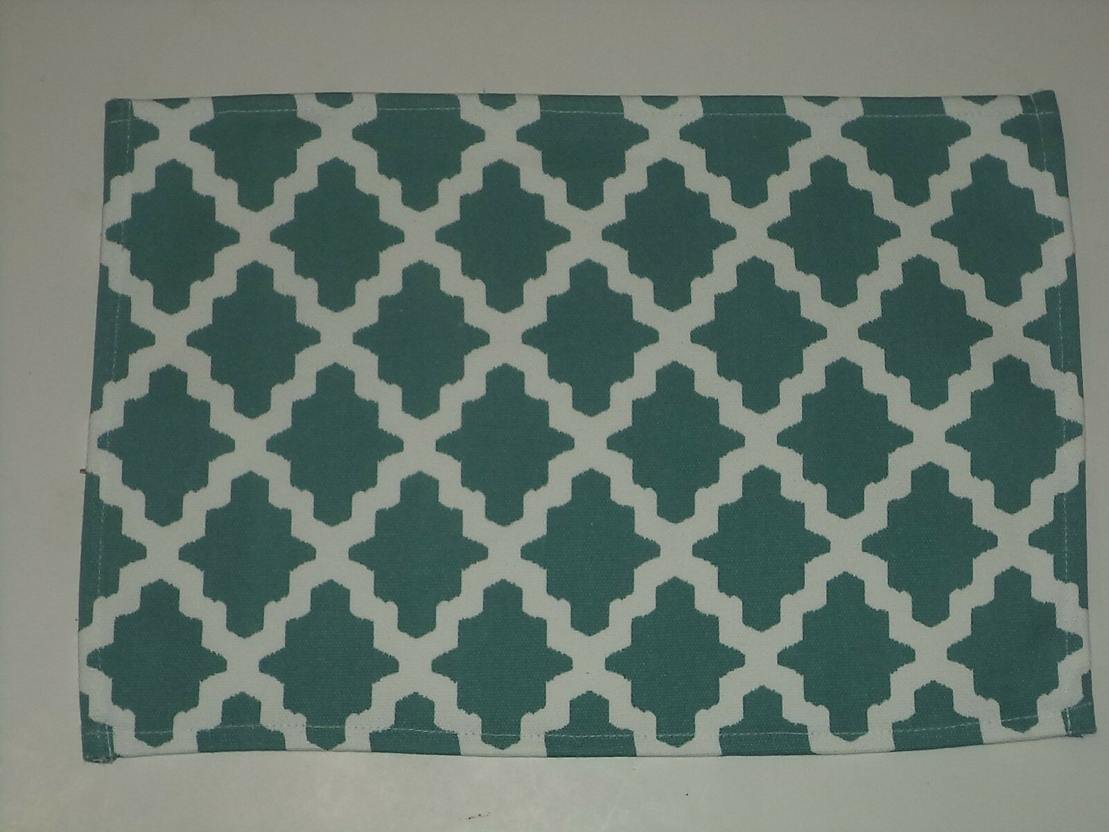 Four 100 Cotton Placemats With Tile Look 13 Inches X 19 Inches For Sale Online Ebay