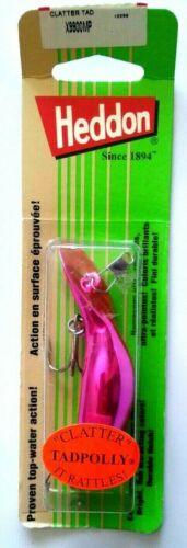 Heddon Tadpolly Clatter Tad Metallic Pink             Item D 24
