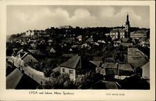 Lysá nad Labem Lissa Elbe Tschechien alte AK ~1950/60 Město Šporkovo Teilansicht