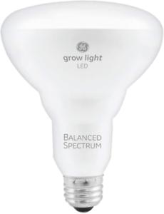 GE Lighting BR30 Full Spectrum LED Grow Light Bulb for Indoor Plants - 9W, Full,