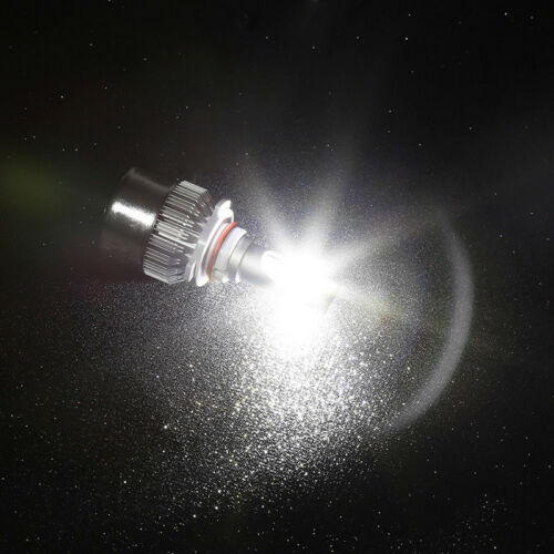 4X 72W COB LED Headlight Hi//Lo Beam For Chevrolet Malibu 13-15 6000K White Bulb