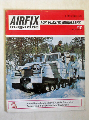 Models & Kits Selfless Airfix Magazine 1971 December