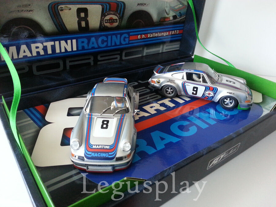 Slot car SCX Scalextric Fly 96068 Porsche 911 Carrera RSR 6H. from Vallelunga '