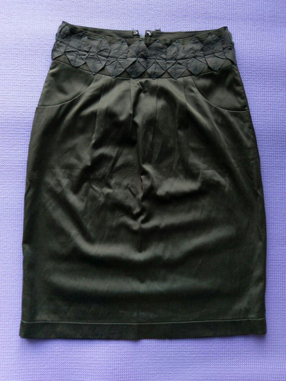 Plains & Prints Brown XS Skirt