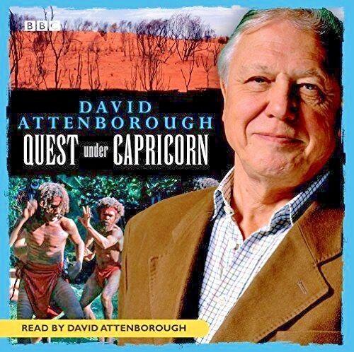 David Attenborough Quest Under Capricorn BBC Audio Book 3 hours 9781405688024