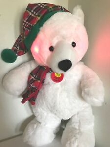 GOFFA-Animated-White-Polar-Bear-Plush-Sings-We-Wish-You-Merry-Christmas-Lights