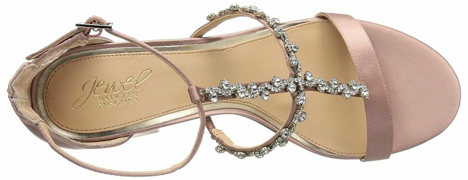 Badgley-Mischka-Jewel-Women-Alamea-Heeled-Sandal-dusty pink size size size 9 new c03778