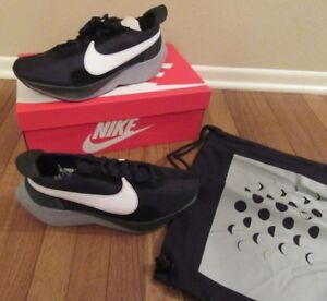 49c37df5600 Nike Moon Racer Size 11.5 Black White Wolf Grey AQ4121 001 Brand New ...