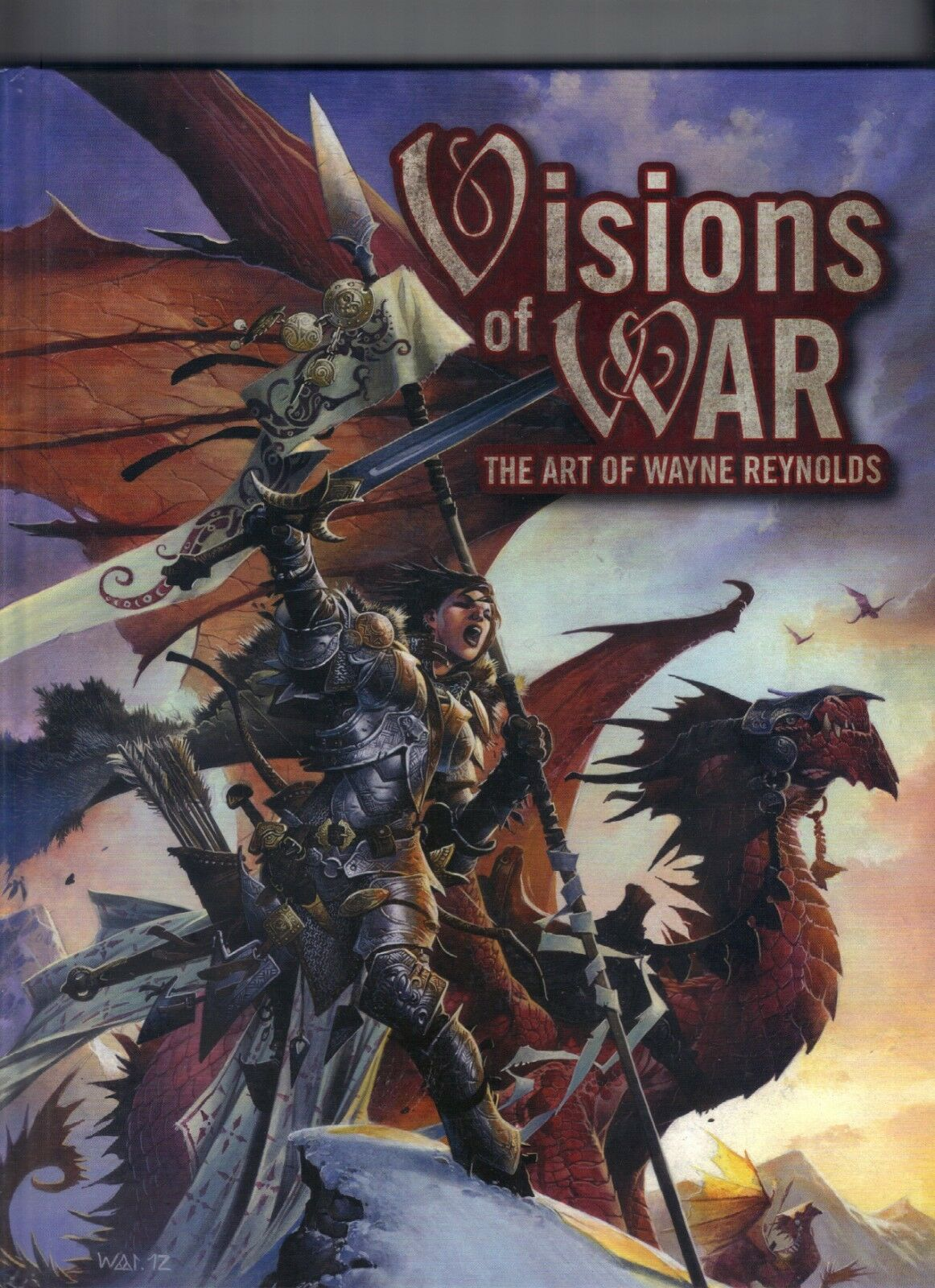Visions of WAR The Art of Wayne Reynolds Hardcover Price Includes Delivery in UK
