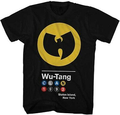 Wu-Tang Clan Circles 1992 Logo Licensed Adult Shirt S-XXL