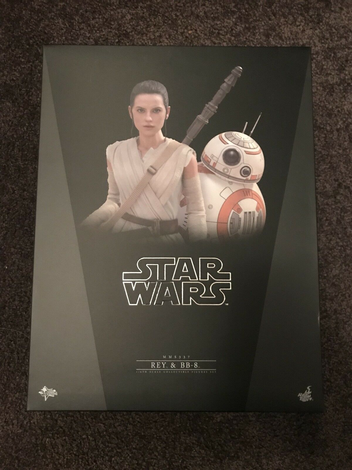1 6 Scale Hot Toys Rey And BB8 Star Wars The Force Awakens BNIB