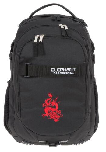 Rucksack Elephant Sig Hero Schulrucksack Schultasche Jungen Motiv 12645 Dragon