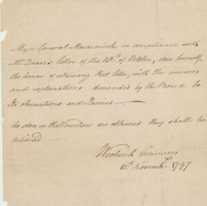Nova-Scotia-Lt-Gov-William-Macarmick-signed-letter-1797-re-answering-questions