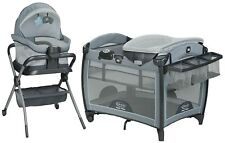 Graco Twins Pack N Play Playard Bassinet Stars Brand Ebay