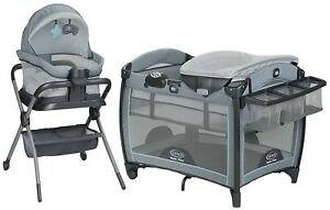 Graco Baby Pack 'n Play Day2Dream Crib Bassinet Playard & Bedside Sleeper Layne 47406150625