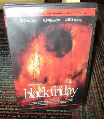 Black Friday Dvd Movie True Story Of Bombay Bomb Blasts India 1993 Hindi Eng S 837101087308 Ebay