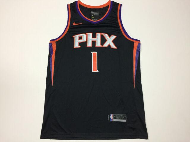 the best attitude 90309 0b6d6 Devin Booker #1 Phoenix Suns Black Men's Jersey Brand New