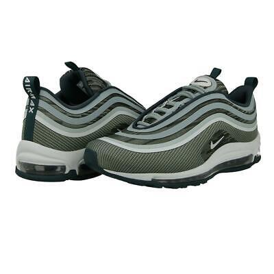 Mujer Nike Air Max 97 Ultra 17 918356 302 Gris Verde Zapatillas Blancas | eBay