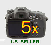 5x Clear Lcd Screen Protector Guard Cover Film For Sony Alpha Slt-a77 Camera