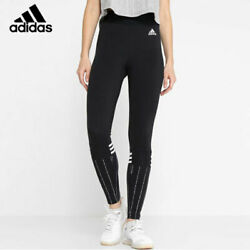 Adidas W Sid Print Tights black Leggings Leggins Hose Jogger NEU SALE DI0108