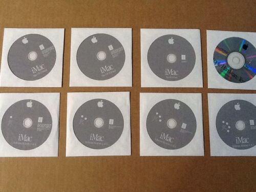 Apple OS 9.2.2 OS 10.1.5 iMac Applications Restore And Software 8 Discs New