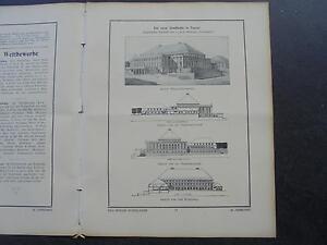 1912 Construction-semaine 45/kassel Ville Halle/-afficher Le Titre D'origine BéNéFique à La Moelle Essentielle