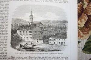 1859 ème 89/séminaire à Kallnberg Lichtenstein-afficher Le Titre D'origine Couleurs Fantaisie