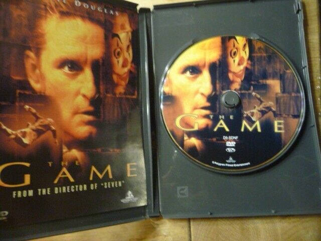 The Game, DVD, thriller