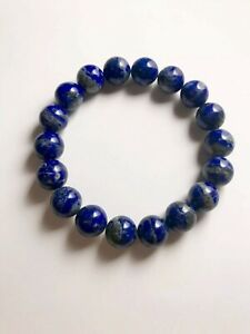Healing Crystal Gemstone Bracelet -Lapis Lazuli Protective and Stress Relief