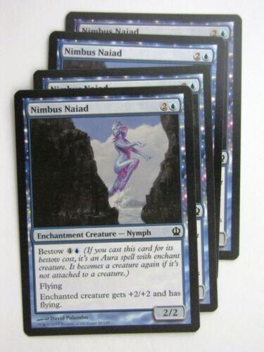 MTG Magic Cards NIMBUS NAIAD x4 Theros playset # 23J75