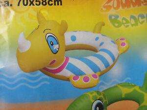 Neu Neu,maße Ist 70x58cm Hervorragender Qualtiät Schwimmtier,nashortn
