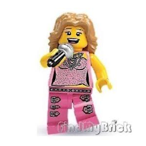 LEGO MINIFIGURES SERIES 2 8684 ~  POP STAR