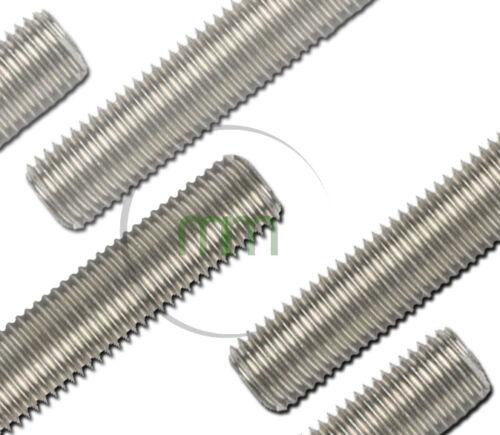 en acier rivets 16mm de diamètre A4 qualité marine en acier inoxydable Bar Filetés M16