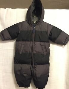 0f5ab3b58 Baby Gap Snowsuit Baby Bunting Down Filling Infant 6-12 months Gray ...