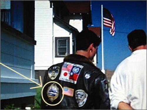 Top Gun MAVERICK Flight Jacket Patch H FANCY DRESS HALLOWEEN COSTUME PARTY PROP