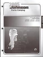 2005 Johnson Outboard Motor 4, 5 & 6 Hp 4 Stroke Parts Manual (594)