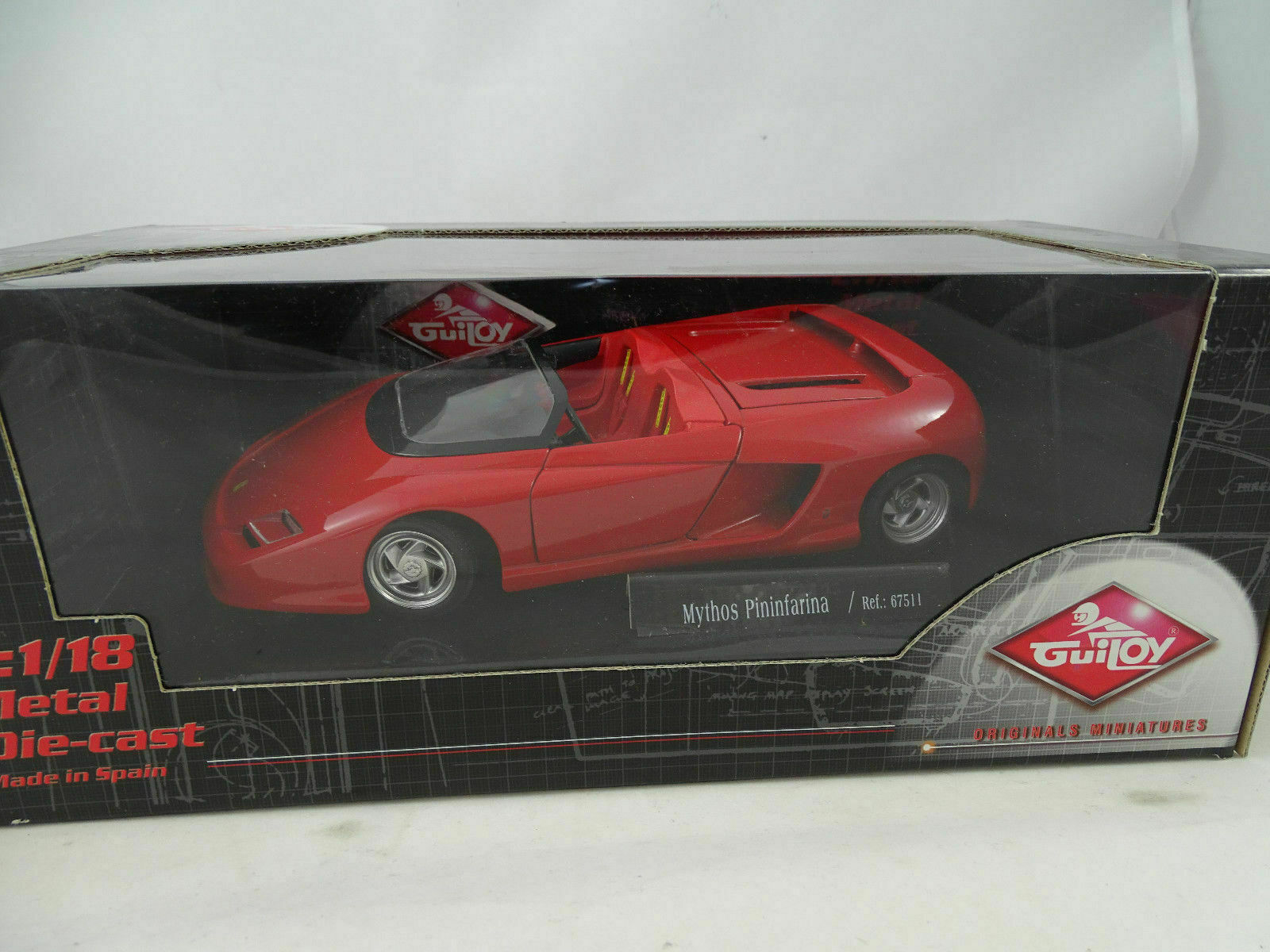 1 18 Guiloy  67511 Ferrari Mythos Pininfarina Rosso  Rarità