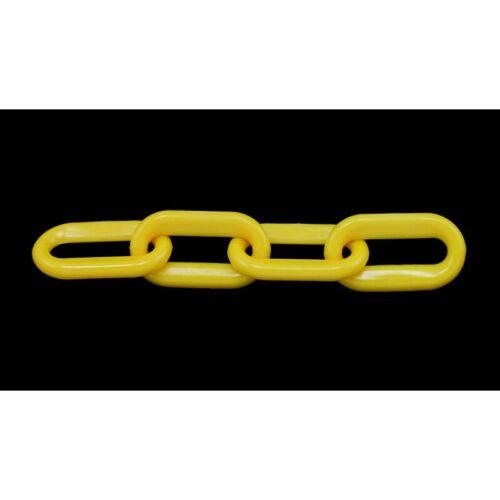 """1-1//2/"""" x 125/' Yellow Plastic Chain"""