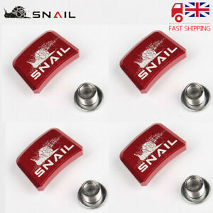 UK SNAIL MTB Bike Crank Chainset Chainring Screw Square Bolts 24*17mm 5.22g //pc