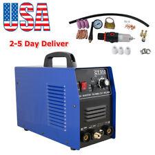 3 In 1 Plasma Cutter Tig Mma Welder Cutting Welding Machine Ct 312 Blue Ac 110v