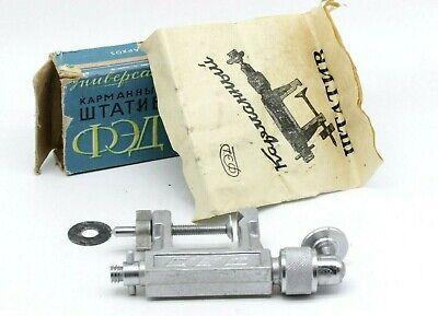 Pocket tripod Subminiature stative Tripod  Clipsa for Camera  Vintage  FED  Tripod for camera