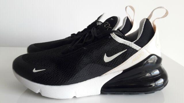 Nike Air Max 270 Black Beige Shoes Ah6789 010 Womens Size US 7