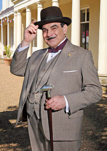 Hercule Poirot David Suchet Stair POSTER